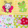 0 - 12 Month Baby Female Treasure Cotton Embroidered Princess Dress - MULTI-A