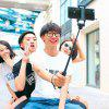 Original Xiaomi Portable Selfie Stick Line Control - LIGHT GRAY