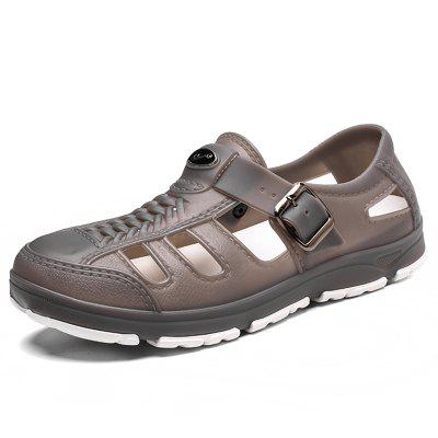 Men Hollow-out Breathable Anti-skid Sandals