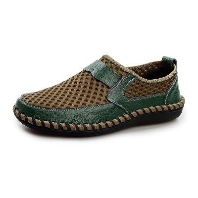 Men Comfortable and Breathable Casual Mesh Slip-on Loafers Flat Shoes