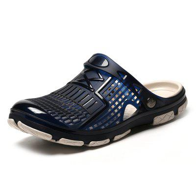 Men's Fashionable Comfortable Hole Slippers