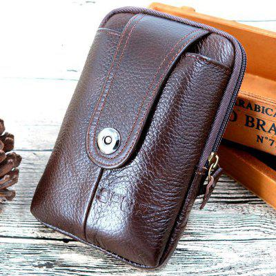 Multi-function Leather Mobile Phone Pocket 5.5 inch