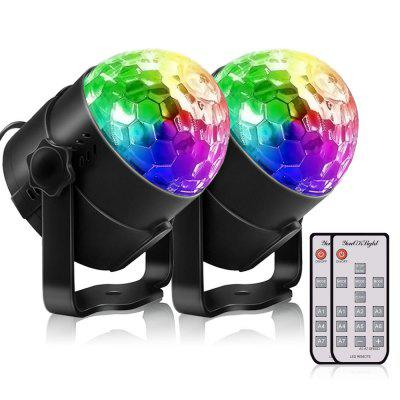 YouOKLight YK2278 Remote Control Party Light Disco Ball 2pcs
