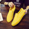 688 Men's Low-top Canvas Shoes Sneakers - YELLOW