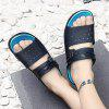 192 Men's Large Size Beach Slippers - BLUE