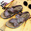 Men Outdoor Beach PU Sandals - BROWN