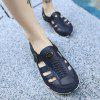 Men Hollow-out Breathable Anti-skid Sandals - LAPIS BLUE