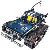 High-speed Crawler Educational Toys DIY Remote Control Car Blocks - LAPIS BLUE
