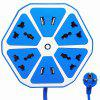 Plug USB hexagonal practic - DODGER BLUE