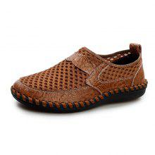 7a85c9956 44% OFF Homens Confortável e Respirável Mesh Casual Slip-on Loafers Flat  Shoes