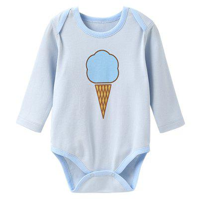 Mint Cotton MC6003 Long Sleeve Baby Rompers