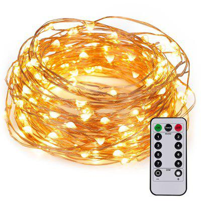 10 m Opt funcție Lumină USB String