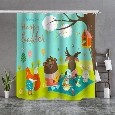Little Bear Wishes Boutique Shower Curtain