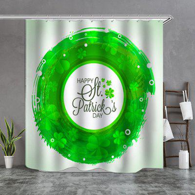 Round Pattern Shower Curtain