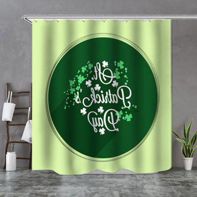 Letters Blessing Shower Curtain