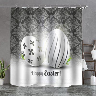 Egg Background Boutique Shower Curtain
