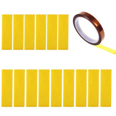 Heating Block Cotton with Kapton Tape 15pcs