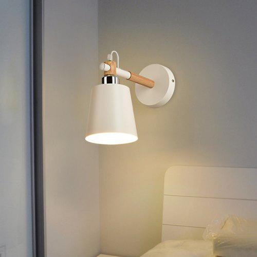 Nordic Modern Simple Bedroom Bedside Wall Lamp