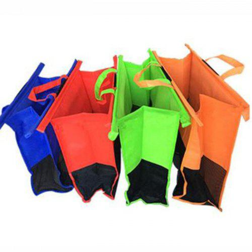 Thicken Foldable Cart Trolley Supermarket Shopping Bag – MULTI 436016601