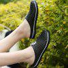 Men Casual Breathable Slippers Sandals - BLACK