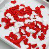 Fournitures de mariage Sponge Heart Press Sprinkle Petals - BLANC