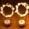 2 Meters 20 Lights Knob Copper Wire Light String 1PC - TRANSPARENT
