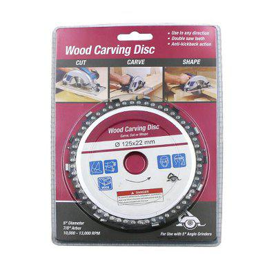 New 5 inch Angle Grinder Chain Plate Carving Disc