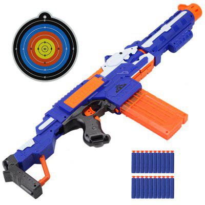 3 w 1 Electric Burst z karabinu Soft Rifle Gun Toy dla dzieci Outdoor Shooting Game