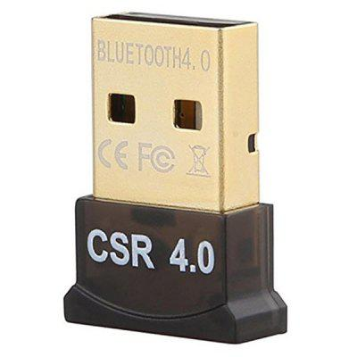 Windows 10 8 7 Vista XP 32/64 için USB Bluetooth CSR 4.0 Çift Modlu Adaptör Dongle
