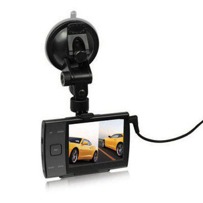 HD720P 3.5 Inch Screen Car Dash DVR Camera Image