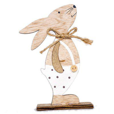 Easter Bunny Wooden Toy