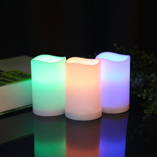 Utorch Remote Control Candle LED Light 3pcs