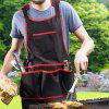 Multi-tool Cleaning Workwear Durable Tool Apron - BLACK