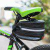 LEADBIKE A41 Bicycle Tail Package USB Charging Waterproof LED Light Warning Saddle Bag - BLACK