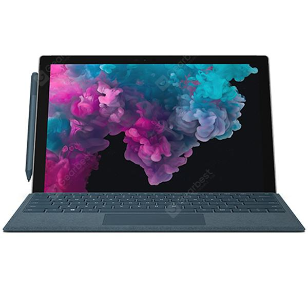 Microsoft Surface Pro 6 2 in 1 Tablet PC 12.3 inch Windows 10 Home Version intel Core i5-8250U Quad Core 1.6GHz 8GB RAM 256GB SSD Dual Camera 45000mAh Built-in