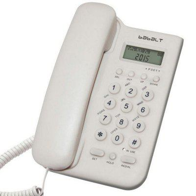 Home Office Hotel Caller ID Battery Free Landline Telephone