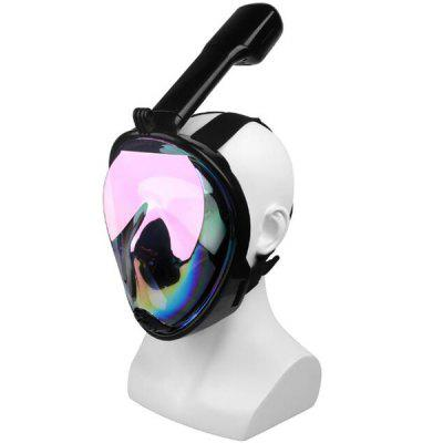 Galvanotecnica Snorkeling Riflettente Snorkeling Full Dry Diving Mask