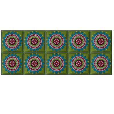 151008 Exquisite Home Decor Turkish Style Tile Wall Sticker