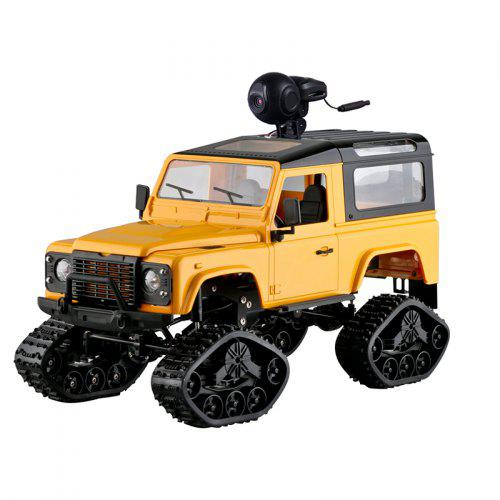 Gearbest FY003AB Classic Retro All Terrain Off-road Vehicle - Yellow Car + off-road tire