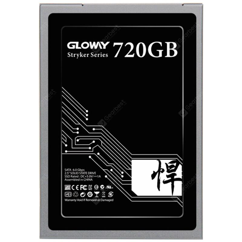 Gloway SATA3 2.5 inch 720G SSD Solid State Drive