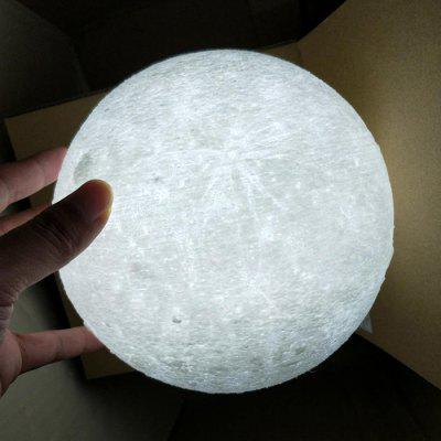 Impressão 3D Moon Light Touch Three Color 8CM