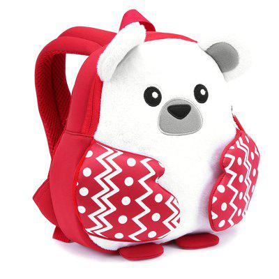 NOHOO NH066 Cute Christmas Polar Bear Girl Backpack