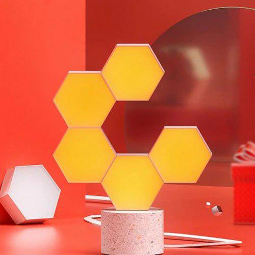Lifesmart Creative Geometry Assembly Pannello di controllo Smart Home Light 6pcs