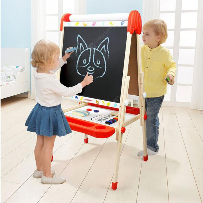 TOPBRIGHT Children Drawing Board from Xiaomi Youpin - BurlyWood