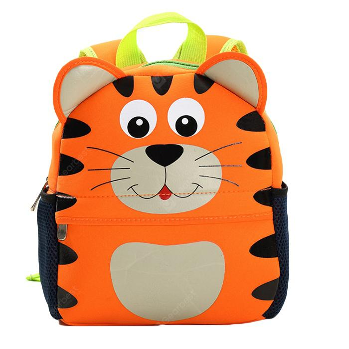 21 x 26cm School Bag Kindergarten Student Cartoon Backpack
