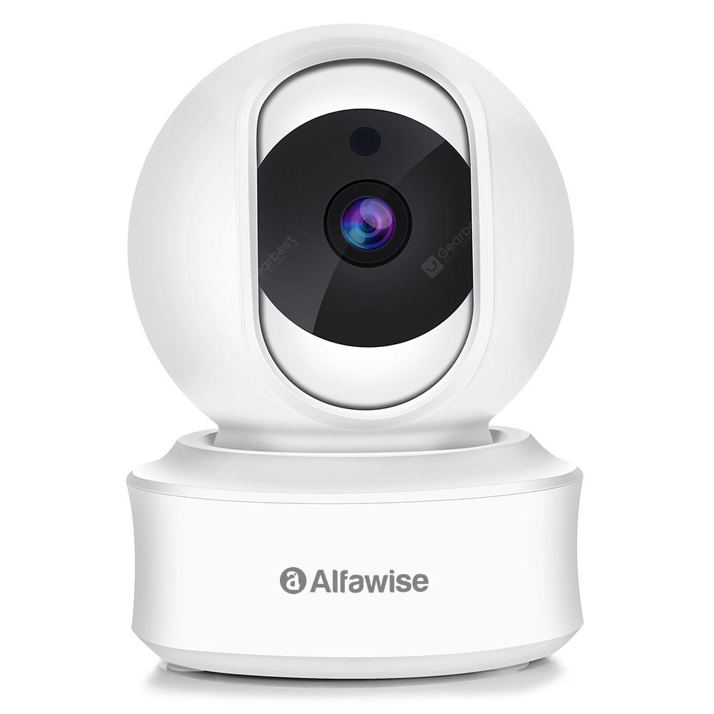 Alfawise Lilliput - 002 1080P Panoramic Wireless IP Camera | Gearbest