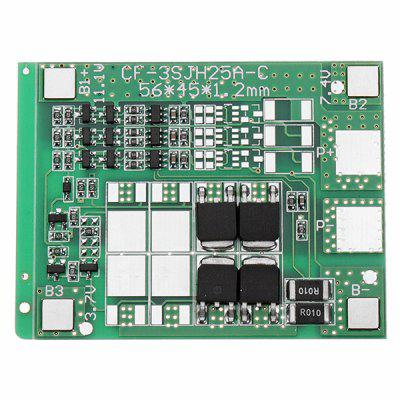 Three String 12A 12V 18650 Lithium Battery Protection Board