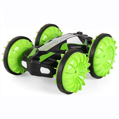 Four-wheel Drive Amphibious Remote Control Stunt Car Toy