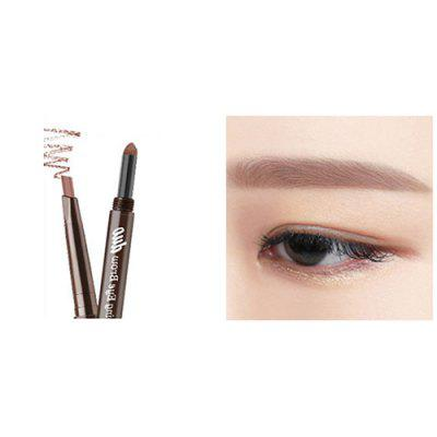 DNM makeup168 Automatic Rotation Waterproof Double-head 3D Eyebrow Pencil