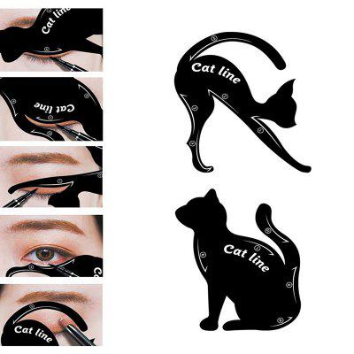 Criativo Cat Eyeliner Card 2pcs